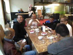 CEO Inspiratif Group Bukber Bareng Pemilik Media Online Lampung