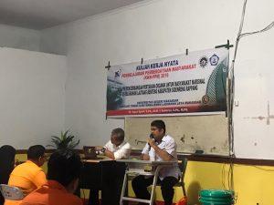 Mahasiswa KKN-PPM STIM Lasharan Jaya Adakan Pelatihan Perdana