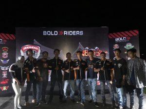 Pererat Silaturahmi, COC Celebes Hadiri Kampoeng Bikers di Wajo
