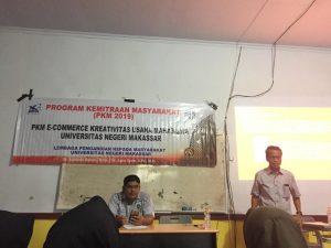 Gelar Program Kemitraan Masyarakat, Dosen Pascasarjana UNM Angkat E-Commerce