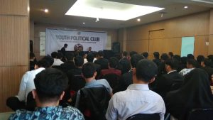 Youth Political Club Hadirkan Kandidat Bakal Calon Walikota Makassar