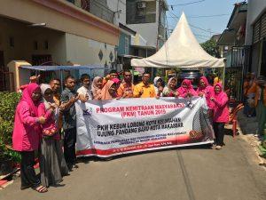 Tim Monev Dana DRPM Dikti Kunjungi Kebun Lorong Kota di Ujung Pandang Baru