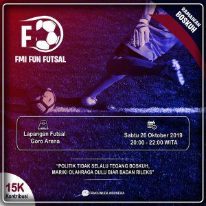 Undang Komunitas dan Wartawan, Fraksi Muda Indonesia Bakal Gelar Fun Futsal